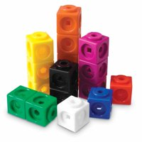 Deals on Learning Resources MathLink Cubes, Set of 100