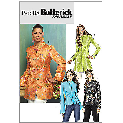 Butterick Pattern Misses' and Misses' Petite Jacket, FF (16, 18, 20, 22)