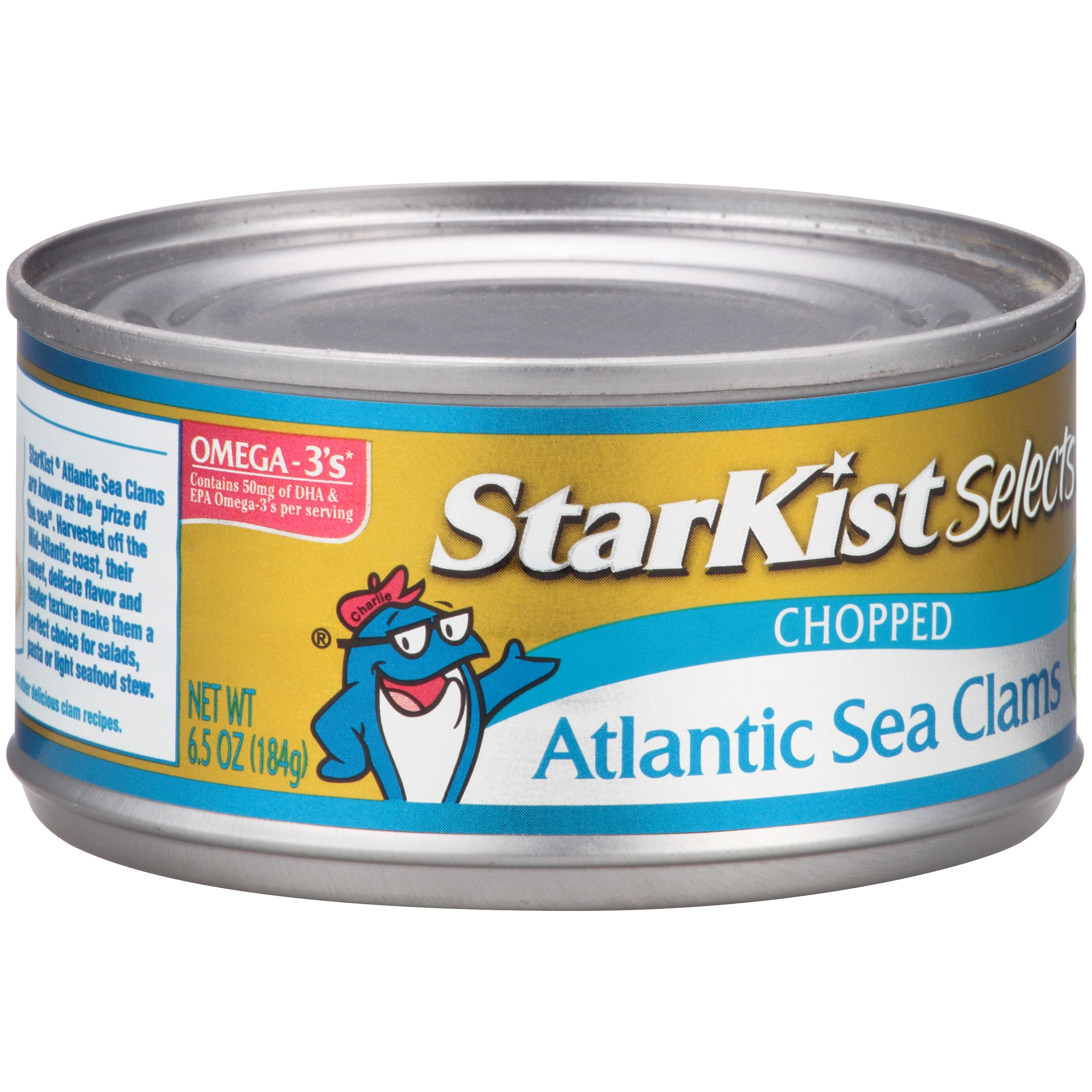 StarKist® Selects Chopped Atlantic Sea Clams 6.5 oz. Can