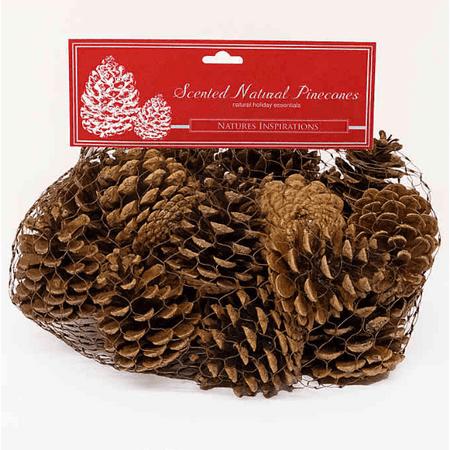 Scented Natural Pine Cone Bag
