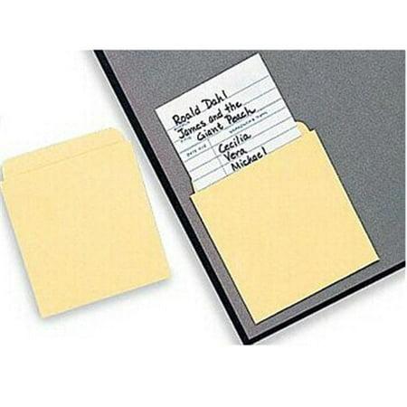 FRANK SCHAFFER PUBLICATIONS ID-33948 LIBRARY POCKETS 50-PK - Library Card Pockets