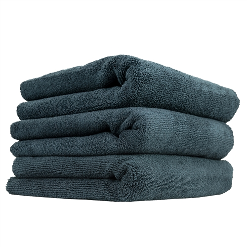 Chemical Guys MIC_805_3 Monster Edgeless Microfiber Towel, Black (16 in. x 16 in.) (Pack of 3)
