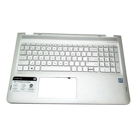 Series Touchpad Assembly - 857283-001 9Z.NE1BW.301 HP Envy 15-AQ M6-AQ Series Keyboard Palmrest Assembly NO Touchpad Laptop Palmrest Touchpad Assembly - Used Very Good