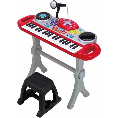 Little Virtuoso Rippin Rockin Rollin Keyboard Red
