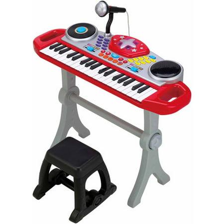 Little Virtuoso Rippin', Rockin', Rollin' Keyboard, Red](Gigantic Keyboard Playmat Reviews)