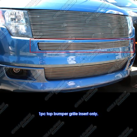 Fits 2007-2010 Ford Edge Top Lower Bumper Billet Grille Grill Inserts #F65152A