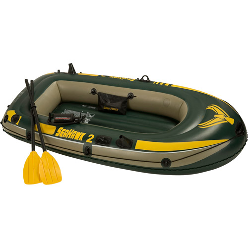 Intex Seahawk 2-Person Boat Set