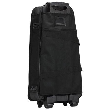 Nylon Wheeled Case (Kaces Universal Bell Kit Polyfoam Case w/ Wheels, 1200D Nylon,)