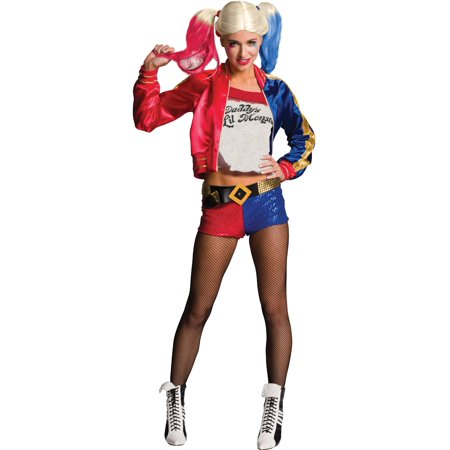 Adult Suicide Squad Harley Quinn - Harley Quinn Halloween Costume For Kids