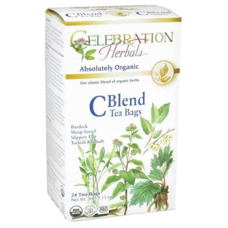 Celebration Herbals Thé bio C Blend 24 sachets de thé