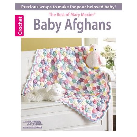 Baby Afghans -- The Best of Mary Maxim (Images Of The Virgin Mary And Baby Jesus)