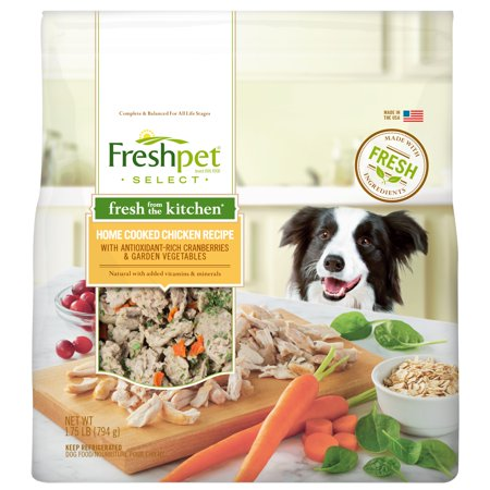 Freshpet Select Fresh From The Kitchen Home Cooked Chicken