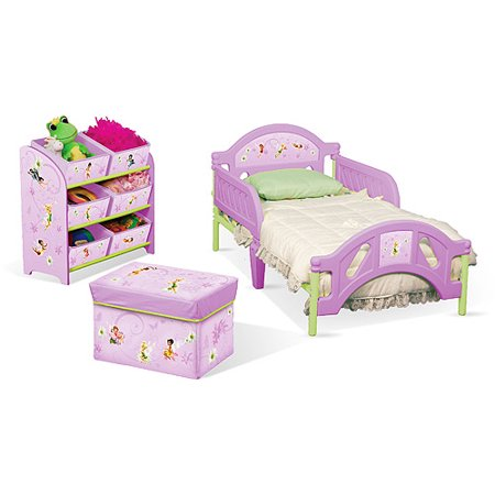 Disney TinkerBell Fairies Toddler Room in a Box - Walmart.com