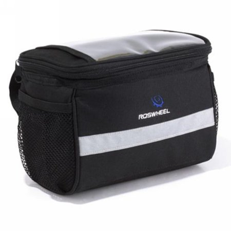 Roswheel TSV Bike Handlebar Bag Bicycle Pannier Frame Tube Outdoor Cycling Pouch Front Basket ()