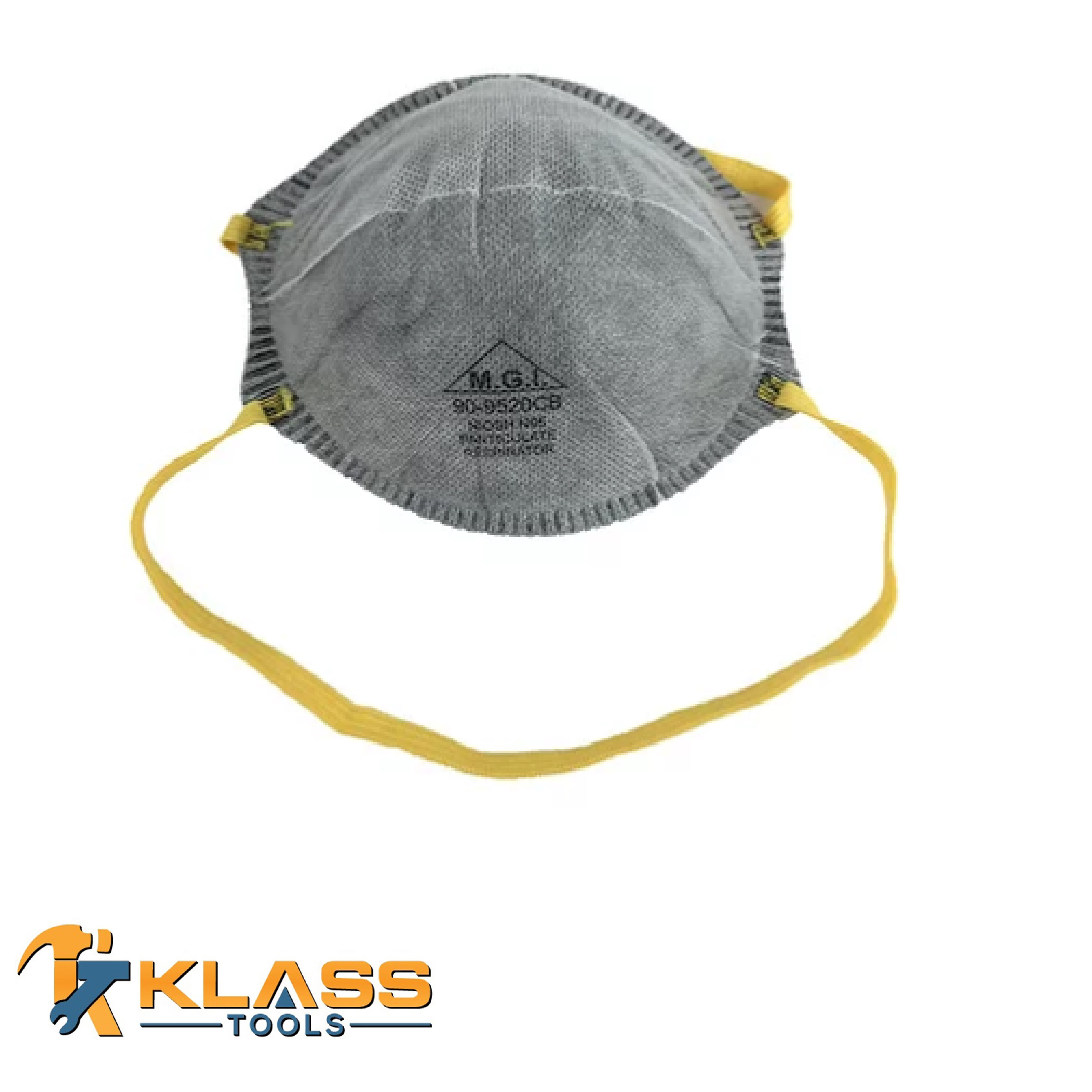Carbon N95 Particulate Respirator Mask - Cone Style (Pack of 10)