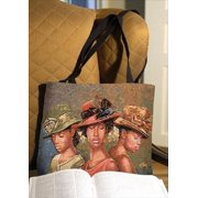 FAITH HOPE & LOVE -HB-RECT TOTE BAG