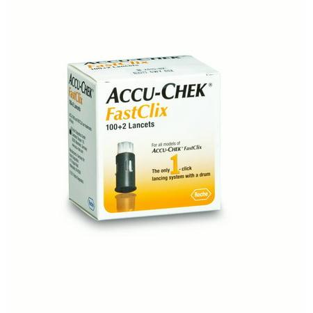 Accu-Chek FastClix Lancets, 102 Ct