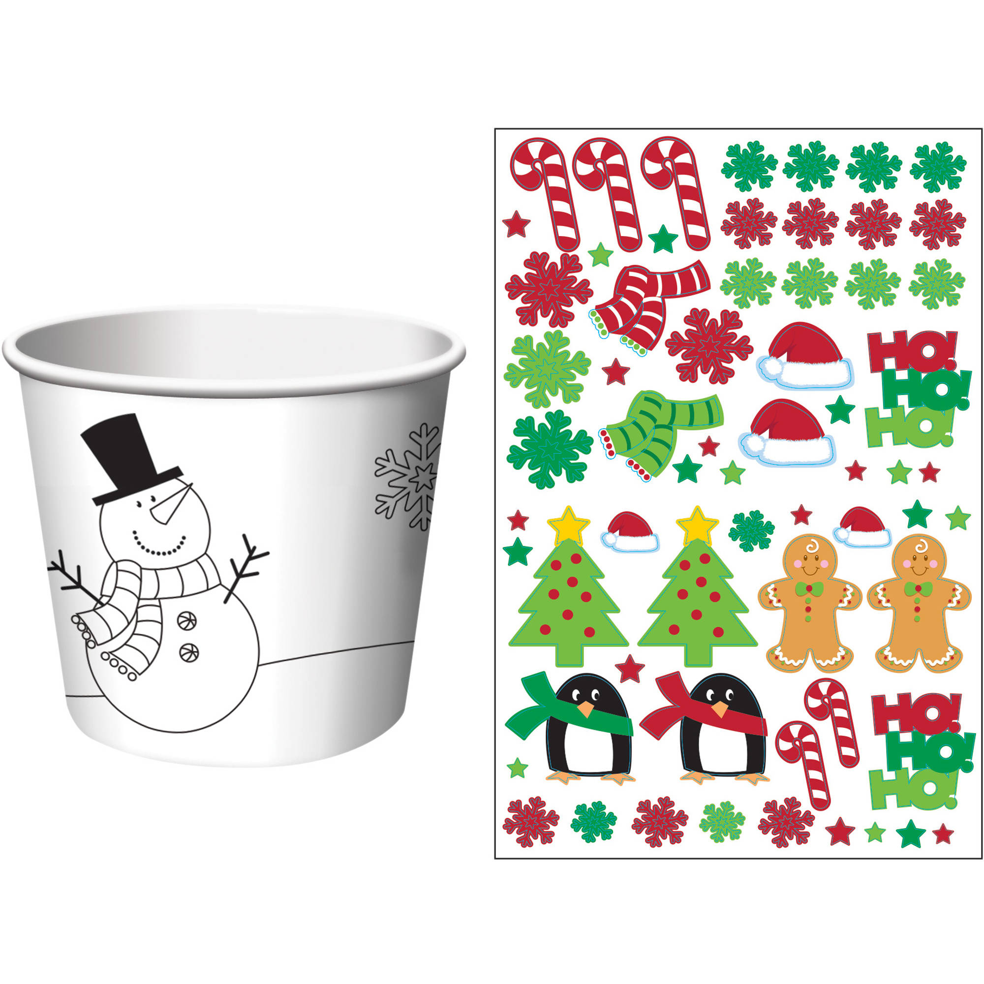 Christmas Treat Cups, 6-Pack