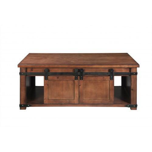 mid century modern coffee table solid wood coffee table