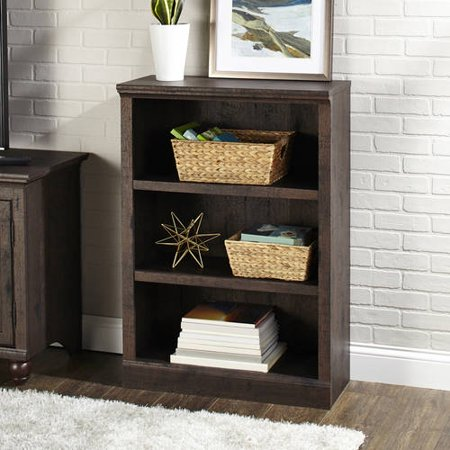 Better Homes And Gardens Crossmill Collection 3 Shelf Bookcase Multiple Finishes