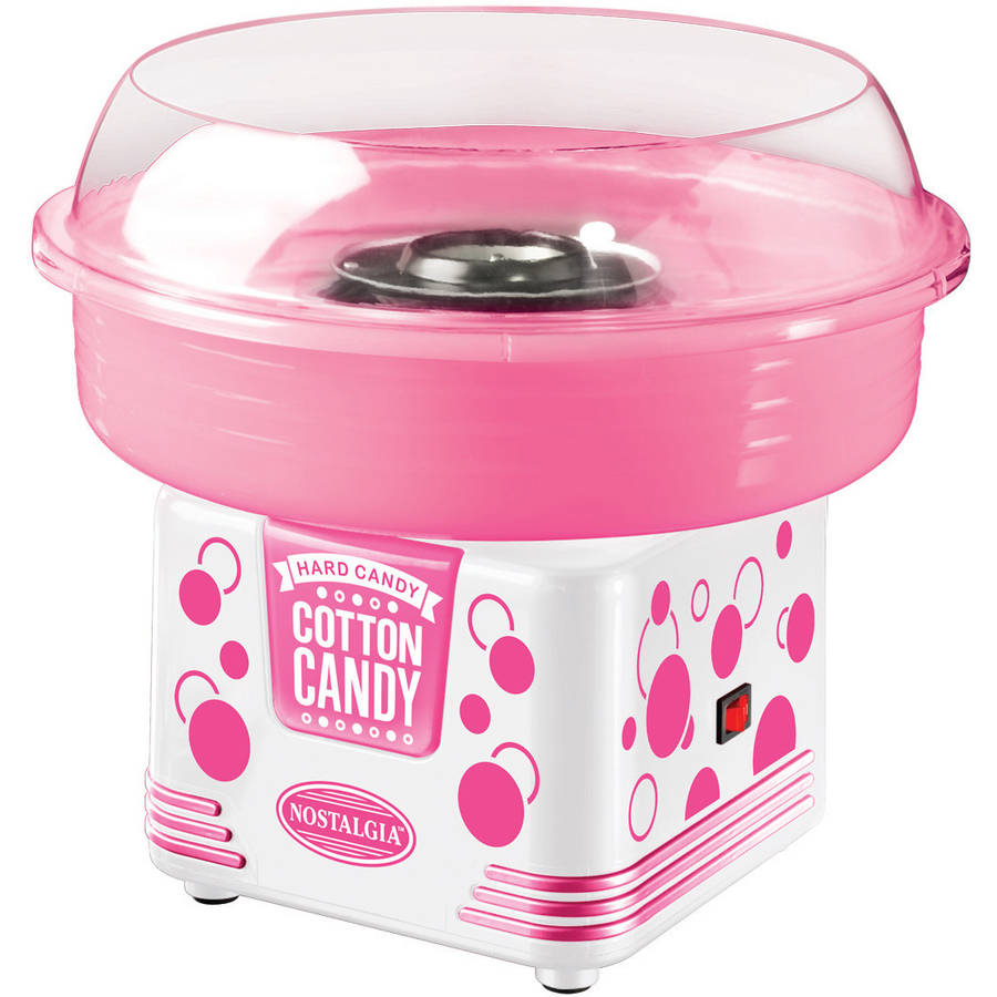 Nostalgia Hard and Sugar-Free Candy Cotton Candy Maker, PCM405WMLN1PK