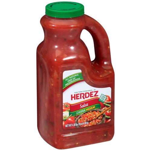 HERDEZ Medium Salsa Casera, 70 oz