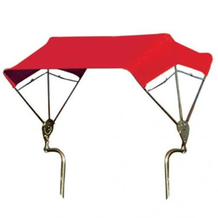 Frame Fender (SNOWCO 3-Bow Tractor Canopy with Frame, Fender Mount, 40