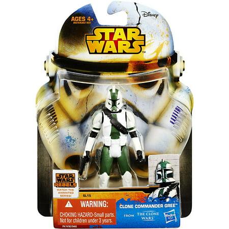 Star Wars Saga Legends 2015 Clone Commander Gree Action