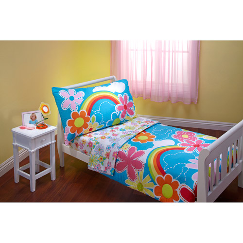 DISCONTINUED - Everything for Kids Happiness 4-Piece Toddler Bedding Set