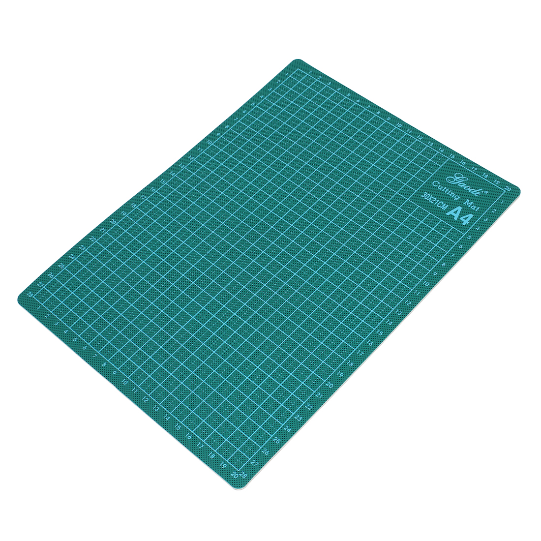 Plastic Cover Nonslip Grid Self Healing A4 Cutting Craft Mat Green 300mm x 220mm