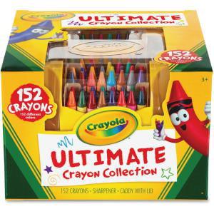 Sparkle Crayons (Crayola Ultimate 152 Crayon Collection)