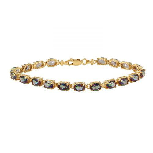 Foreli 19CTW Topaz 14K Yellow Gold Bracelet by Generic