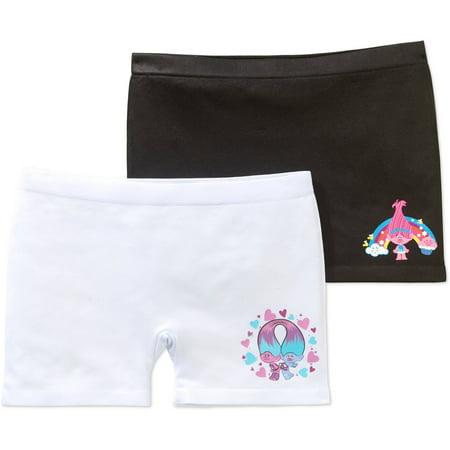 TROLLS Girls' Seamless Play Shorts 2