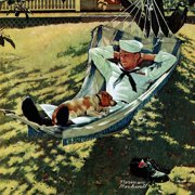 """Marmont Hill """"On Leave"""" by Norman Rockwell Painting Print on Canvas"""