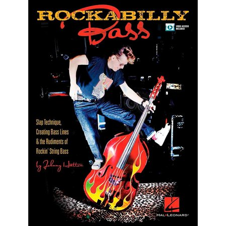 Hal Leonard Rockabilly Bass - Slap Technique, Creating Bass Lines & the Rudiments of Rockin' String Bass Book/Video