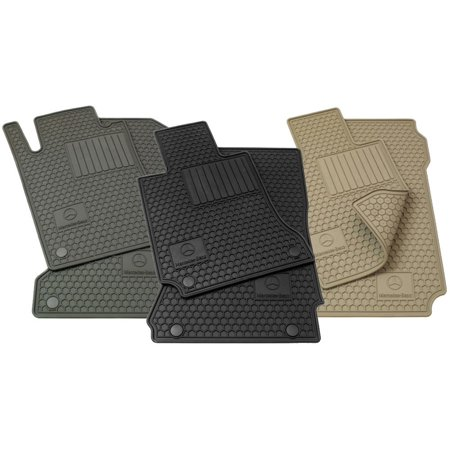 Mercedes-Benz Genuine OEM All Season Floor Mats 2010 to 2014 E-Class Coupe and Convertible models