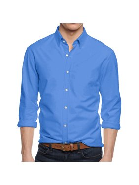 8dcfec3bf62 Product Image Men s Premium Dress Shirts Slim Fit Long Sleeve