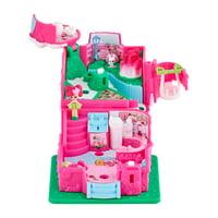 Shopkins Lil' Secrets Secret Shop, Rosey Bloom Caf Mini Playset with Shoppie Doll