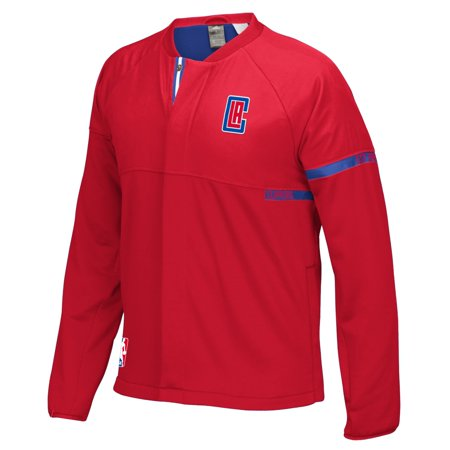 Los Angeles Clippers Adidas 2016 Nba Mens On Court Warm Up Full Zip Jacket
