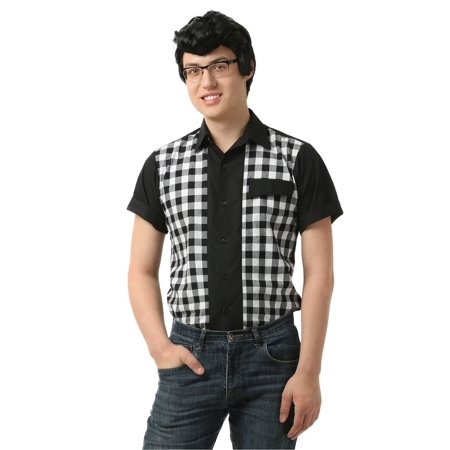 Men's 50's Bowler Shirt - 50s Mens Shirts