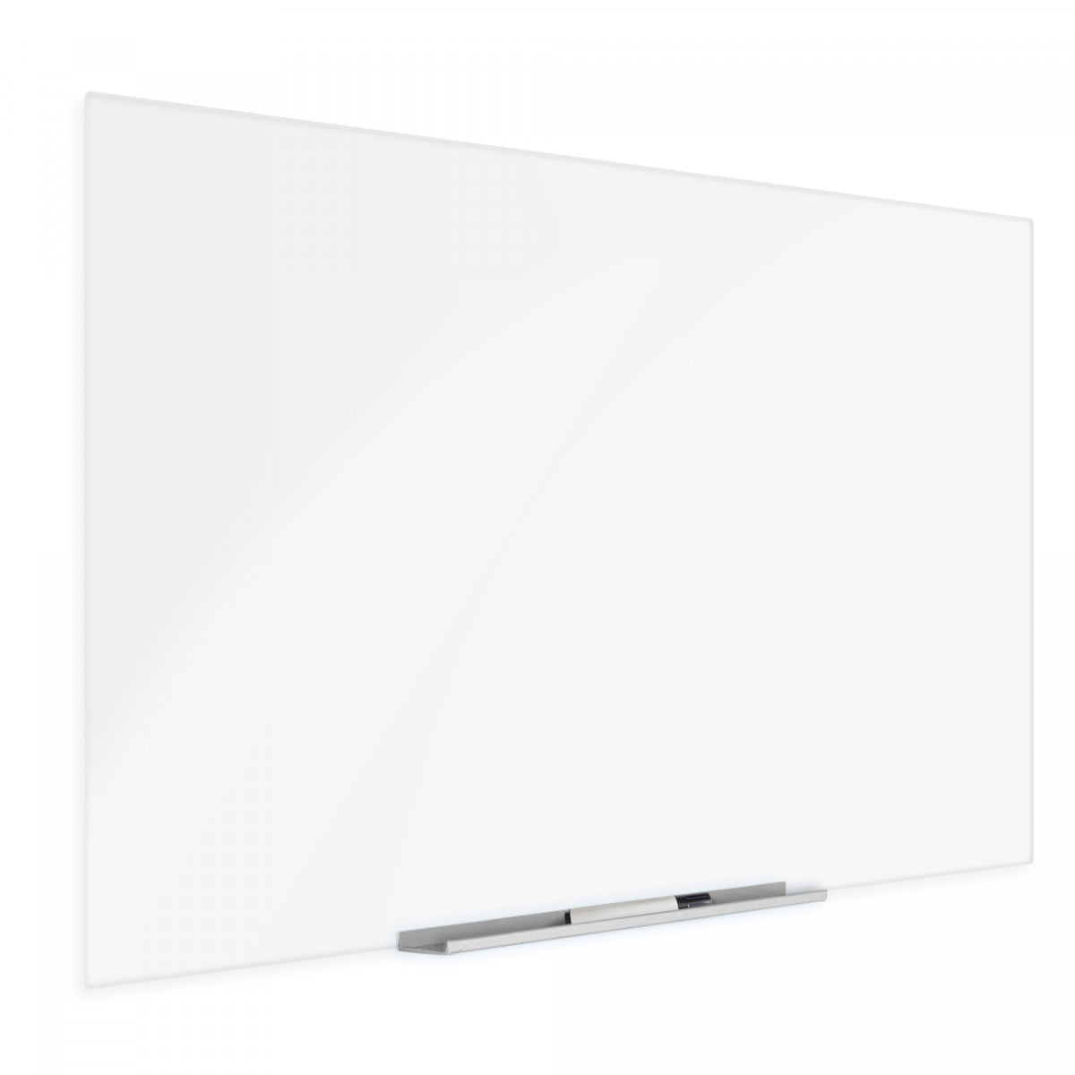 """Magnetic Glass Dry Erase Board 36/""""x48/"""" Light Green"""