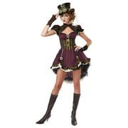 California Costumes Women's Steampunk Adult, Burgundy/Brown, X-Small