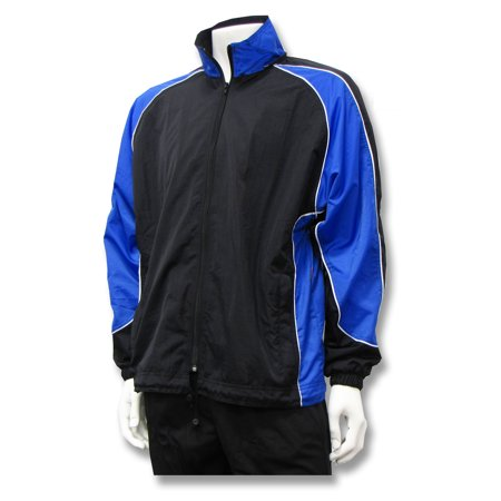 Viper nylon warm-up jacket with detachable hood, by Code Four Athletics