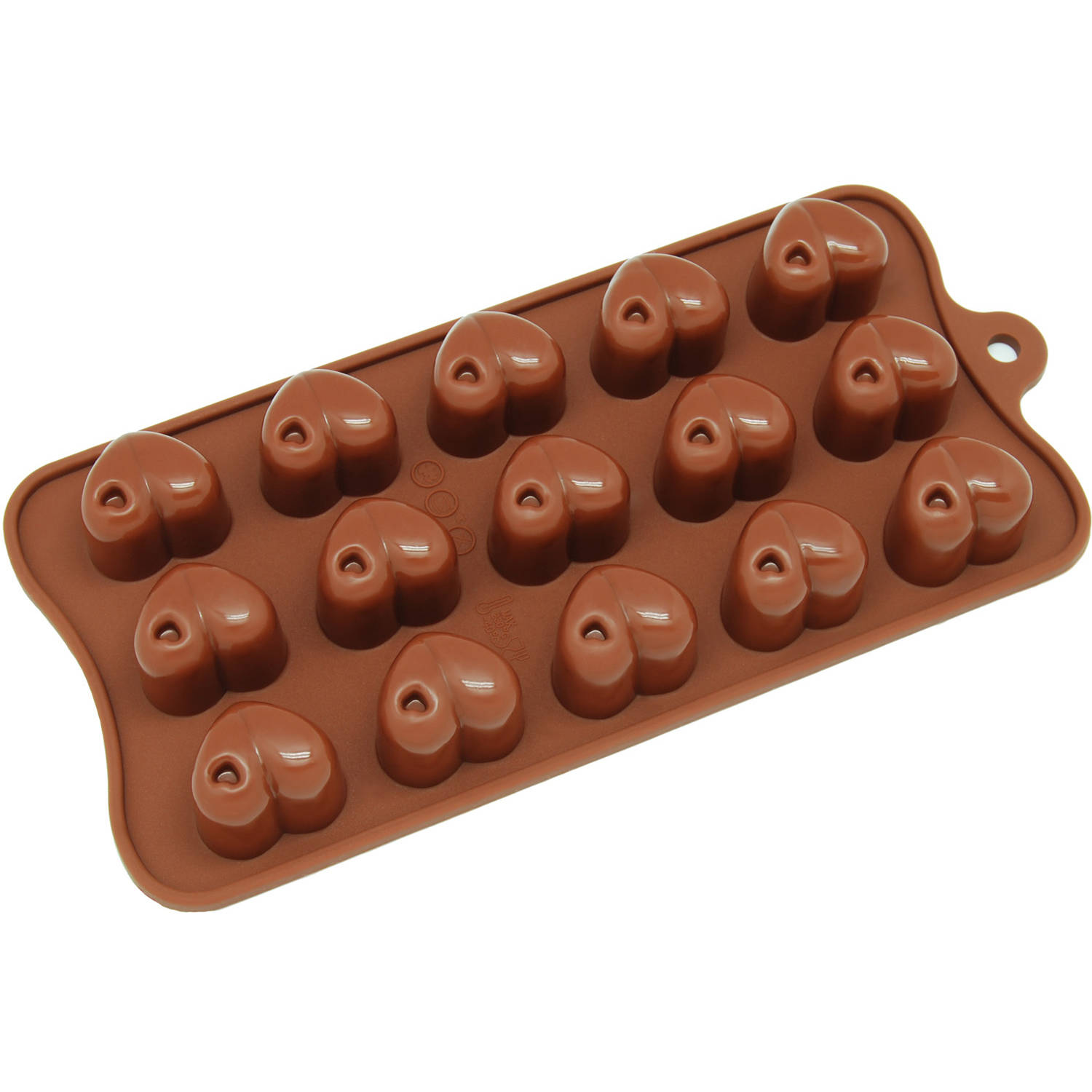 Love Boy Girl Heart Bear Silicone Chocolate Mould Baking Ice Jelly Valentine