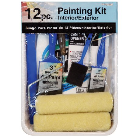 Gam PT03362 12 Piece Roller Paint Kit ()