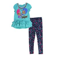 ad007b506b966 Product Image SHIMMER and SHINE Toddler Girls' Legging Set, Sizes: 2T-4T,  ...