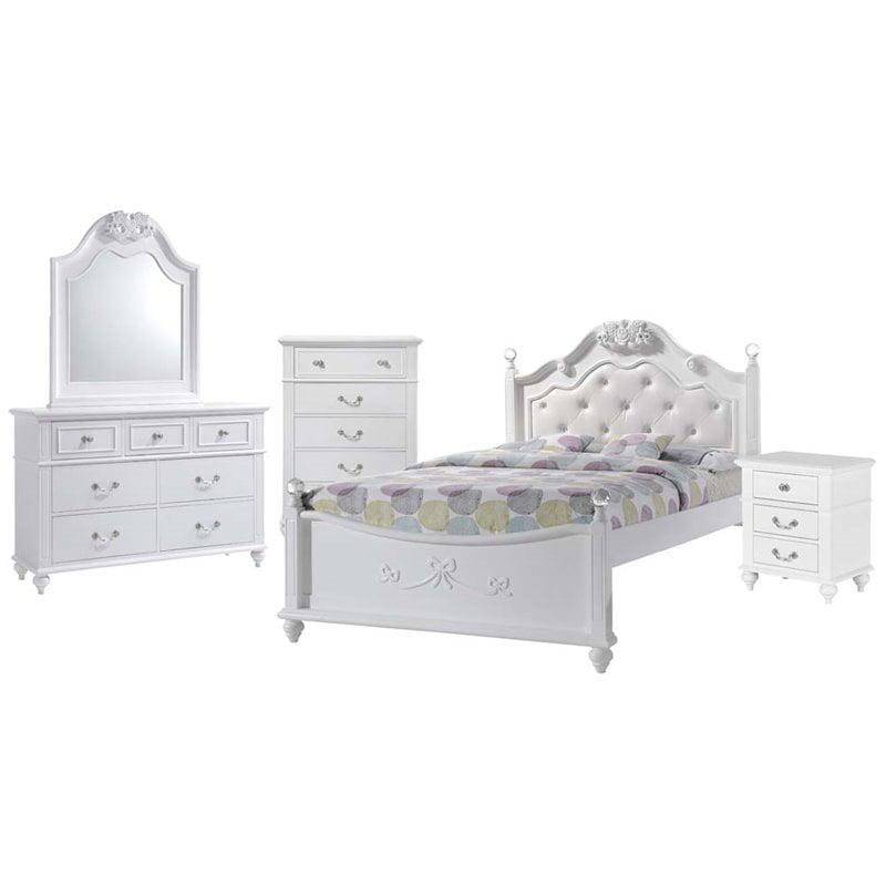 Picket House Furnishings Annie 6 Piece Full Platform Bedroom Set