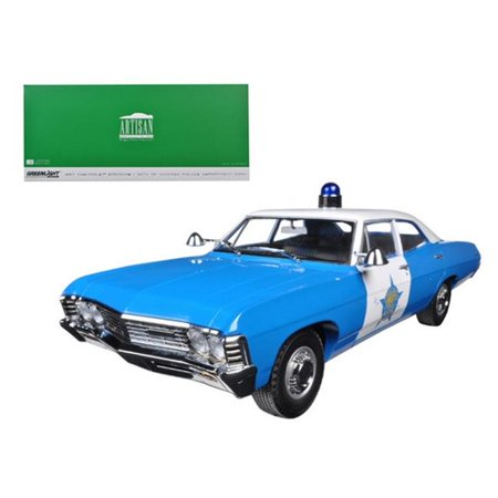 1967 Chevrolet Biscayne City of Chicago Police Department 1-18 Diecast Model Car - Party City Biscayne
