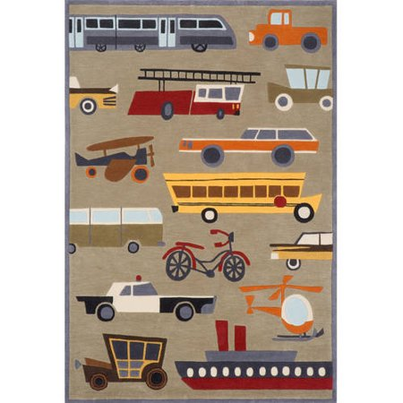 Momeni Lil Mo Whimsy Transportation Area Rug