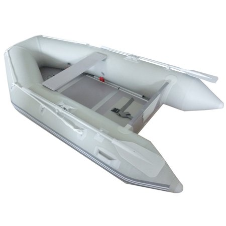 Gymax Inflatable Boat Tender Raft Dinghy With